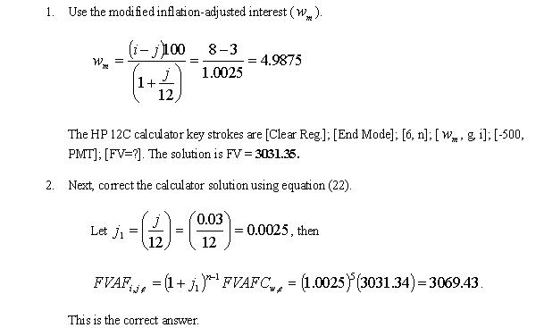 journal derived corrections to calculator solutions for certain